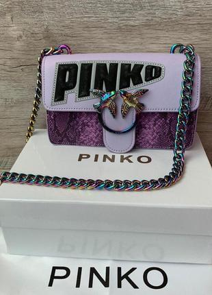 Модная  женская сумка pinko пинко кожа