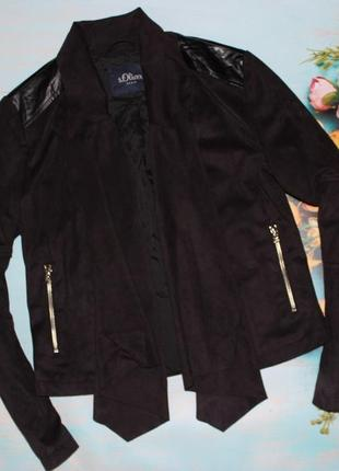 Очень классная куртка пиджак s.oliwer размер s