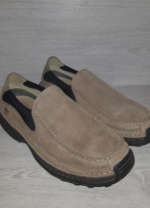Кожаные туфли, мокасины timberland оригинал