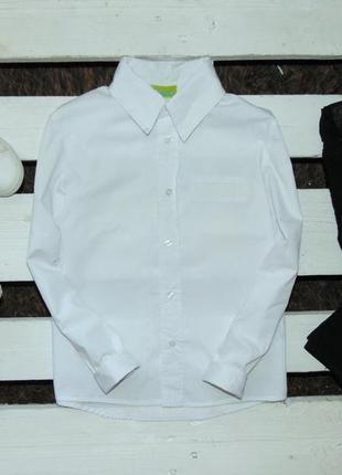 Білосніжна рубашка impidimpi ріст 134-140