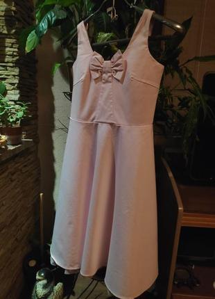 Очень нежное платье next