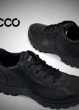 Кожанные трекинговые ботинки экко ecco professional 068763 р.37,р.38 словакия