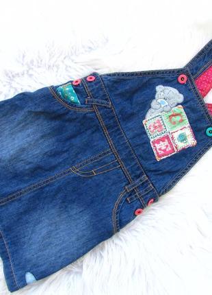 Стильный джинсовый сарафан marks & spencer
