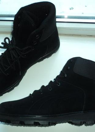 Зимние ботинки puma  44 р  оригинал