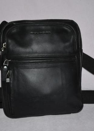 Мужская кожаная сумка piquadro, оригинал
