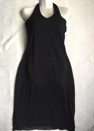 Классное платье кружевное сарафан m-l (46-48)5 фото