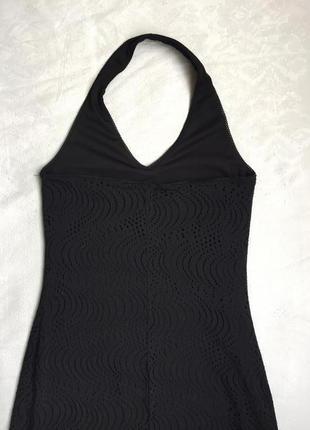 Классное платье кружевное сарафан m-l (46-48)6 фото