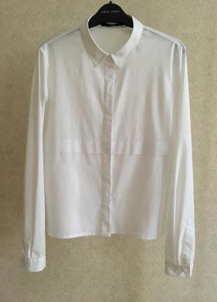 Белая рубашка прямого кроя someday