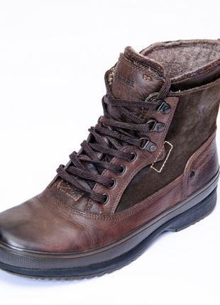 Зимние ботинки sorel brimley. стелька 28 см