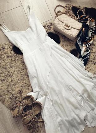 Цікаве стильне асиметричне плаття міді