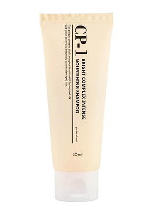 Протеиновый корейский шампунь для волос cp-1 bc intense nourishing shampoo, 100 мл