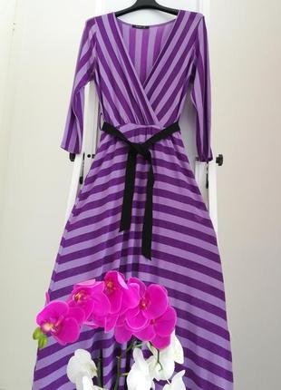 Фиолетовое платье италия