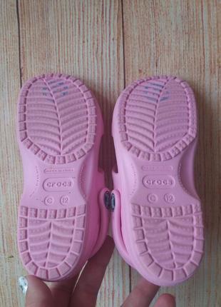 Босоножки сандалии crocs оригинал на девочку.7 фото