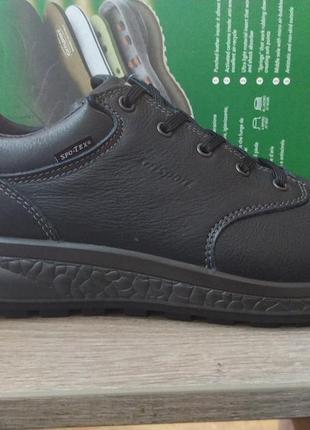 Мужские осенне-зимние туфли grisport 14001 v13, чёрные