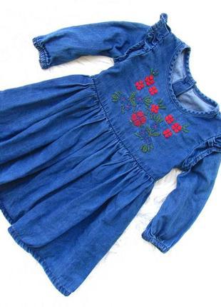 Стильное джинсовая платье matalan