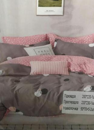 Комплект постельного белья евро фланель