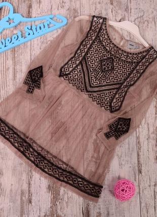 Блуза с вышивкой asos