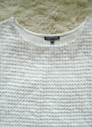 Стильная блуза с красивым ажурным кружевом3 фото