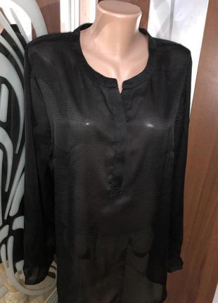 Стильная чёрная блуза rosesandgold