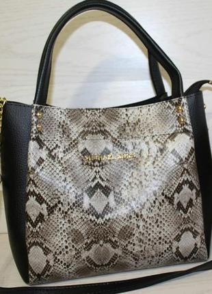 Распродажа! модная сумка в актуальный принт