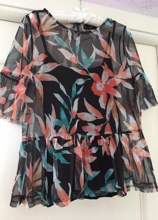 Блуза топ комплект сетка