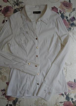 Блуза рубашка белая