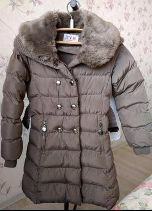 Пальто tyk 5-6 лет