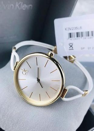 Часы женские швейцарские calvin klein k3v235l6 (оригинальные, новые с биркой)