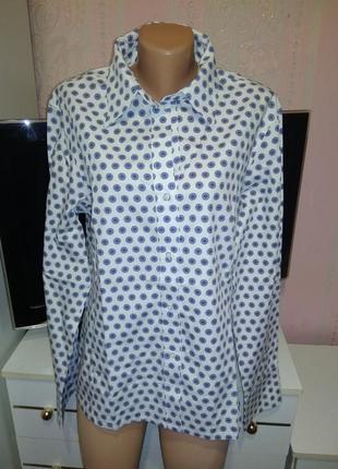Хлопковая рубашка marco pecci xxl