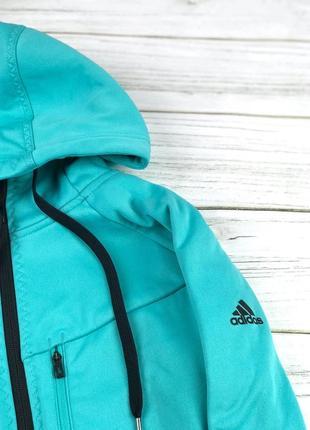Тренировочное худи adidas perfomance мятного цвета
