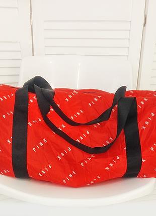 Спортивная сумка packable duffle от виктории сикрет victoria's secret