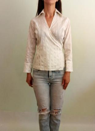 Блуза на запах2 фото