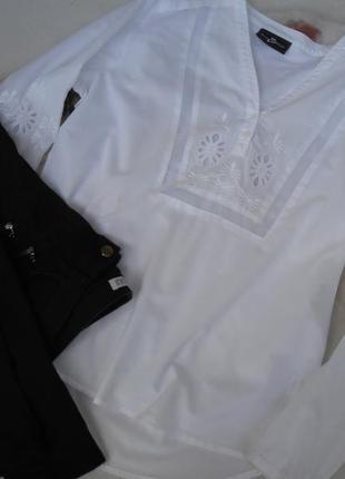 Джинсы на замочках внизу zara 36-38 р.и блузочка ришелье