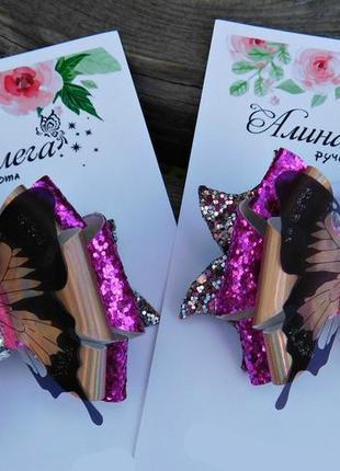 Бантики - бабочки, пара