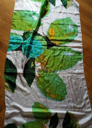 Шелковая шаль