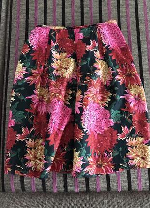Шикарная цветная юбка размер m