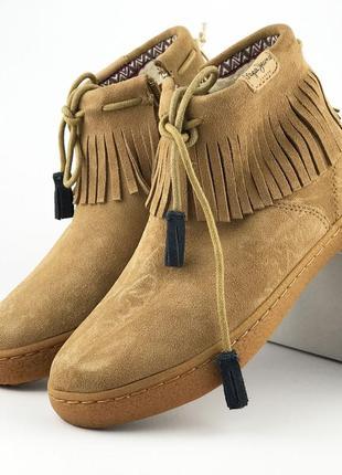 Утепленные ботинки девочкеpepe jeans