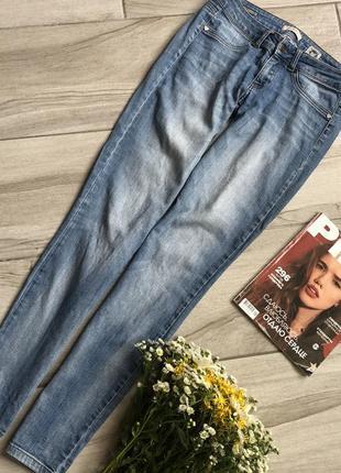 Голубые джинсы phard со стрейчем