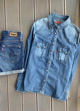 Рубашка levi's, оригинал
