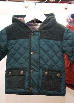 Куртка на 12-18 мес m&s