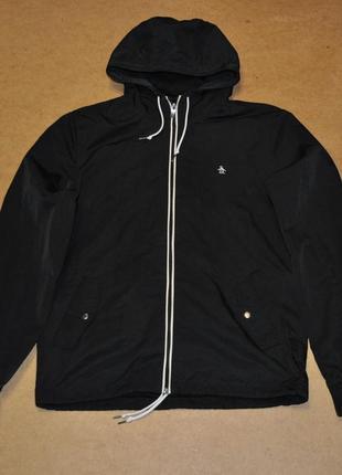 Penguin куртка ветровка черная