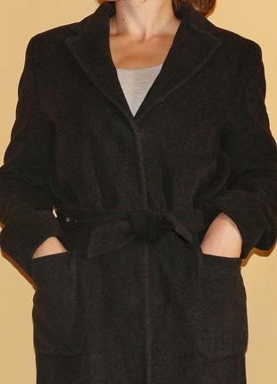 "Шерстяное пальто ""stefanel"" m-l"