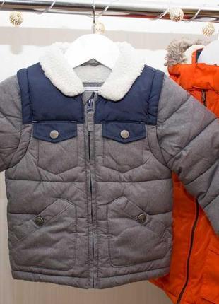 Куртка трансформер m&s на 1.5-2 года