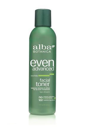 Тоник для кожи лица с экстрактами морских водорослей alba botanica (сша)