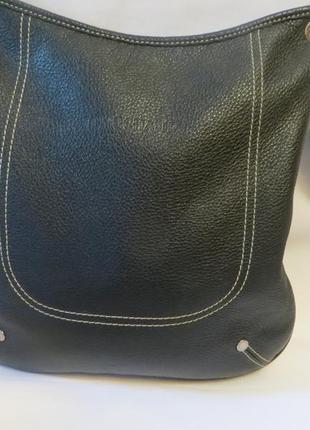 Longchamp . шикарная , кожаная сумка кроссбоди .оригинал