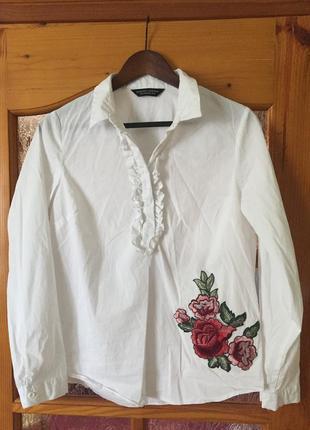 Блузка с вышивкой asos