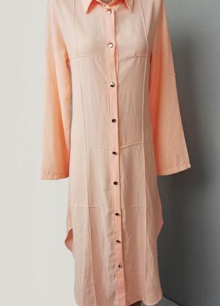 Платье рубашка красивого цвета италия