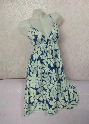 Платье сарафан хлопок lime