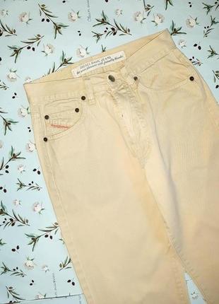 Акция 1+1=3 крутые джинсы олдскуд прямого кроя чиносы с подворотом diesel, размер 42 - 449 фото