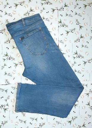 Акция 1+1=3  фирменные базовые узкие джинсы lee, размер 54 - 56, большой размер3 фото